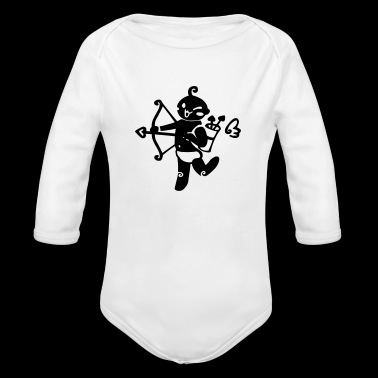 Sagittarius 2 - Long Sleeve Baby Bodysuit