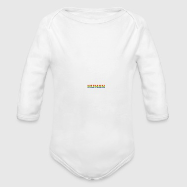 LGBT love human colorful gift homosexual friends - Long Sleeve Baby Bodysuit