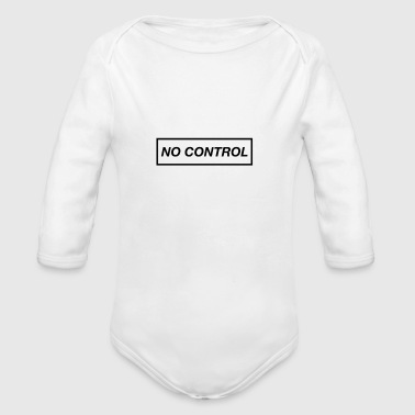 No control phone case - Long Sleeve Baby Bodysuit