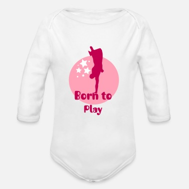 Capoeira Spotlight - Organic Long Sleeve Baby Bodysuit