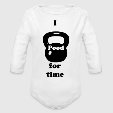 Kettle Bell - Organic Long Sleeve Baby Bodysuit