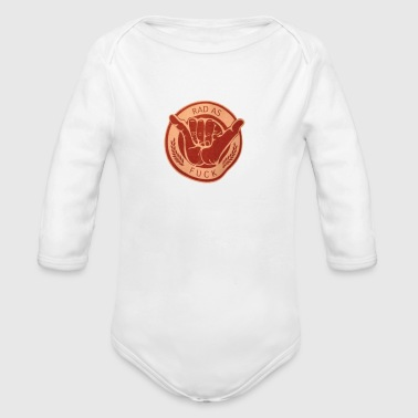 Hang Loose - Organic Long Sleeve Baby Bodysuit