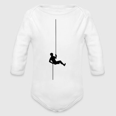 climbing ladder klettern leiter cycling mountain s - Long Sleeve Baby Bodysuit