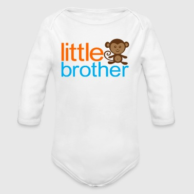 Little Brother - Monkey - Organic Long Sleeve Baby Bodysuit