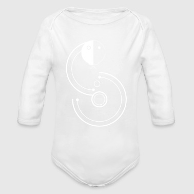 snake sign - Long Sleeve Baby Bodysuit