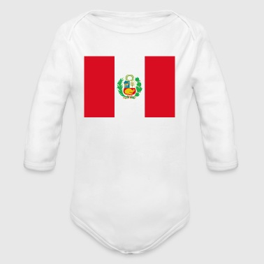 Peru - Organic Long Sleeve Baby Bodysuit