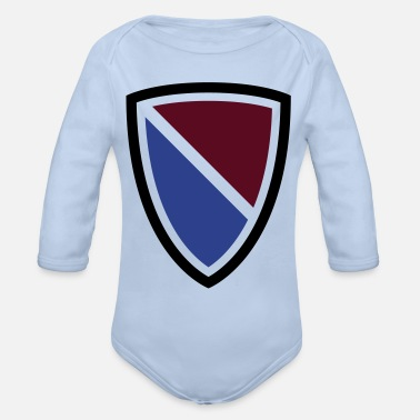 Crest Crest - Organic Long-Sleeved Baby Bodysuit