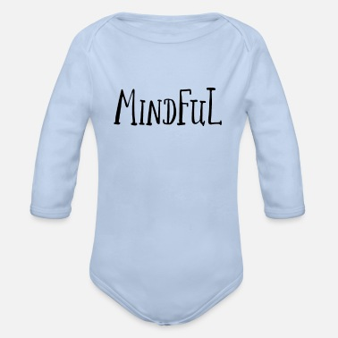 Mindfulness Mindful - Organic Long-Sleeved Baby Bodysuit