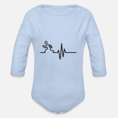 Rotors Rotor frequency - Organic Long-Sleeved Baby Bodysuit