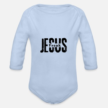 Jesus Freak Jesus Freak - Organic Long-Sleeved Baby Bodysuit
