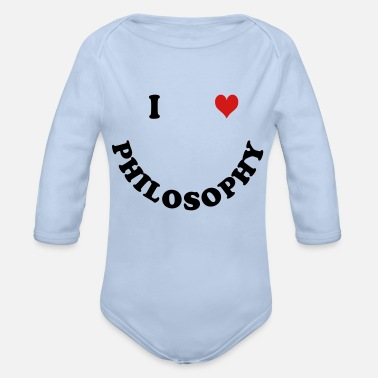 Philosophy PHILOSOPHY - Organic Long-Sleeved Baby Bodysuit