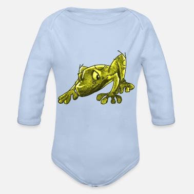 Infectious The Infectious Frog - Organic Long-Sleeved Baby Bodysuit