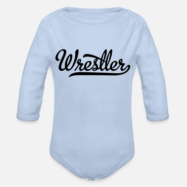 Wrestler Wrestler - Organic Long-Sleeved Baby Bodysuit