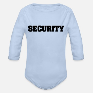 Security Service security - Organic Long-Sleeved Baby Bodysuit