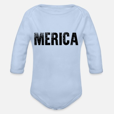 america's got talent - Organic Long-Sleeved Baby Bodysuit