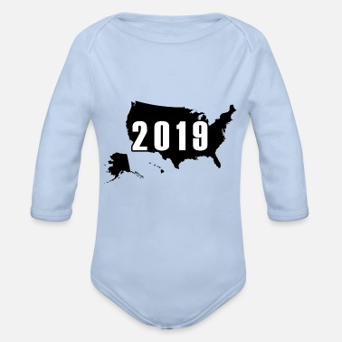 New year 2019 - Organic Long Sleeve Baby Bodysuit