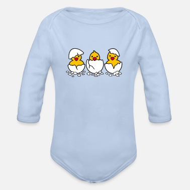 Hatch Just Hatched - Organic Long-Sleeved Baby Bodysuit