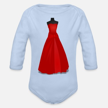 Gown Gown - Organic Long-Sleeved Baby Bodysuit
