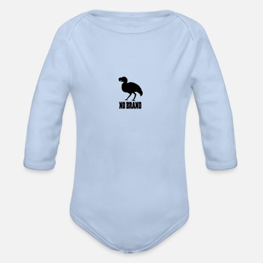 Brands No Brand - Organic Long-Sleeved Baby Bodysuit