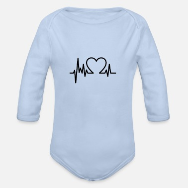 Corazon Corazon - Organic Long-Sleeved Baby Bodysuit