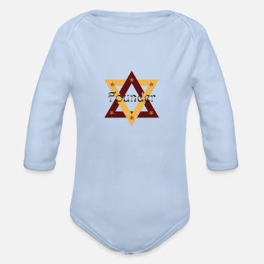 Founder Founder Western NEW 3 G - Organic Long-Sleeved Baby Bodysuit