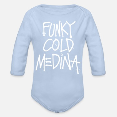 Funky funky - Organic Long-Sleeved Baby Bodysuit