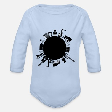 Musical Instruments Musical instruments - Organic Long-Sleeved Baby Bodysuit