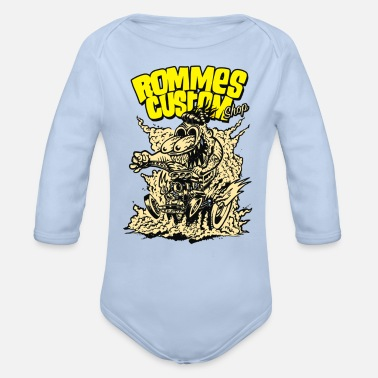 Customized rommes custom - Organic Long-Sleeved Baby Bodysuit