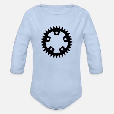 Sprocket Bicycle - Sprocket - Organic Long Sleeve Baby Bodysuit