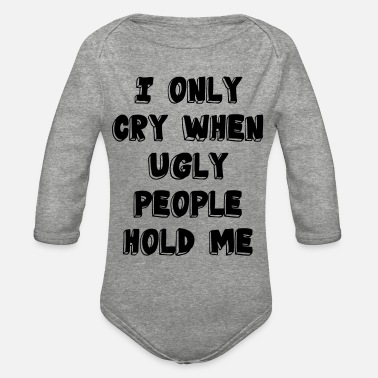 People Ugly People - Organic Long-Sleeved Baby Bodysuit