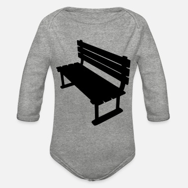 Bench Bench - Organic Long-Sleeved Baby Bodysuit
