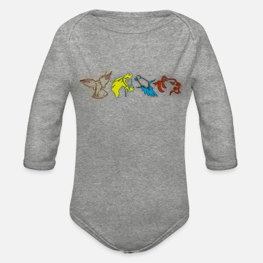 Animal Lover Animals lover animal - Organic Long-Sleeved Baby Bodysuit