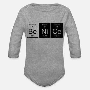Nice Be Nice - Nice - Organic Long-Sleeved Baby Bodysuit