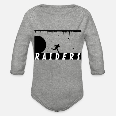 Raider Raiders - Organic Long-Sleeved Baby Bodysuit