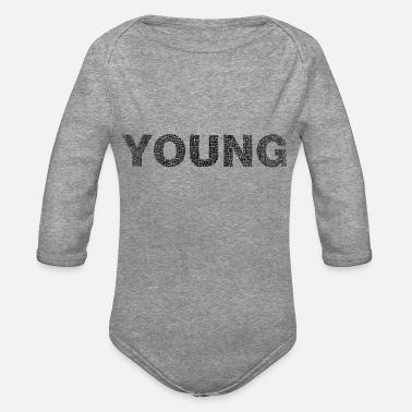 Young Persons young - Organic Long-Sleeved Baby Bodysuit