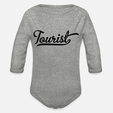 Tourist Tourist - Organic Long-Sleeved Baby Bodysuit