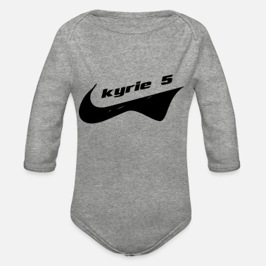 Kyrie 5 kyrie 5 - Organic Long-Sleeved Baby Bodysuit