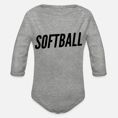 Bestsellers Softball Bestseller - Organic Long-Sleeved Baby Bodysuit