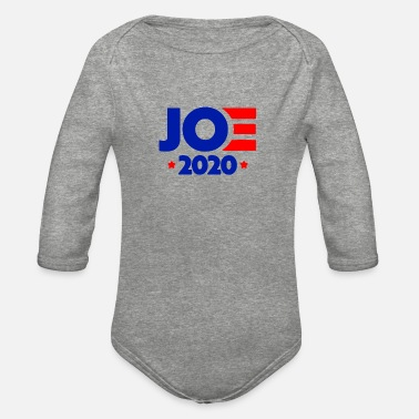 joe biden 2020 Campaign - Organic Long-Sleeved Baby Bodysuit