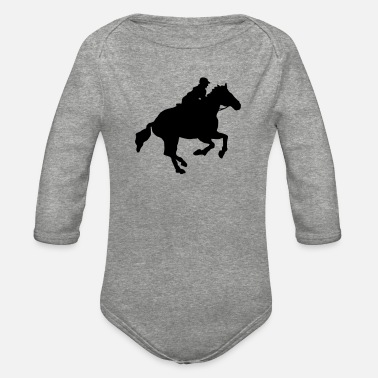 Gallop gallop - Organic Long-Sleeved Baby Bodysuit
