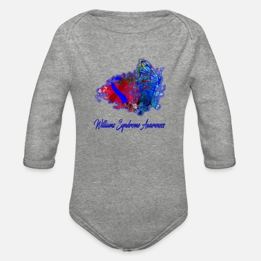 Williams Williams Syndrome Awareness - Organic Long-Sleeved Baby Bodysuit