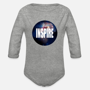 Inspirational Inspire - Organic Long-Sleeved Baby Bodysuit