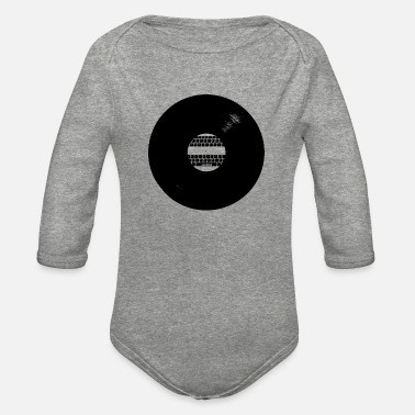Record LIGHT RECORD - Organic Long-Sleeved Baby Bodysuit