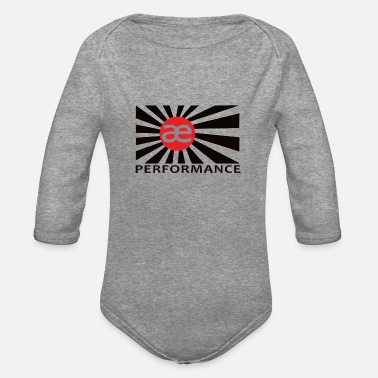 Performance ae performance - Organic Long-Sleeved Baby Bodysuit