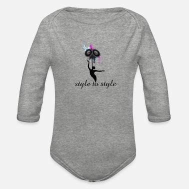 Style Style to style - Organic Long-Sleeved Baby Bodysuit
