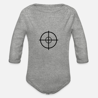 Army Sniper Sniper - Organic Long-Sleeved Baby Bodysuit