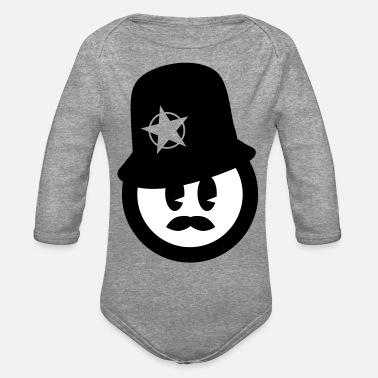 Cop Cop - Organic Long-Sleeved Baby Bodysuit