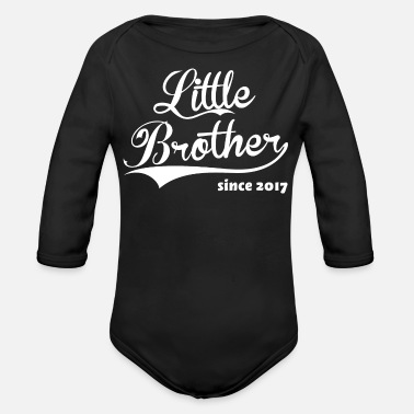 Little Little Brother since 2017 - Organic Long Sleeve Baby Bodysuit