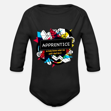 Apprentice APPRENTICE - Organic Long-Sleeved Baby Bodysuit