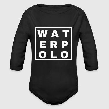 WATERPOLO Funny Design - Organic Long Sleeve Baby Bodysuit